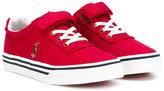 Ralph Lauren lace-up sneakers - kids - Cotton/Canvas/rubber - 20