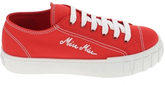 Miu Miu Logo Sneakers
