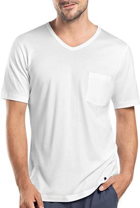 Hanro Night & Day Short-Sleeve T-Shirt W/Pocket