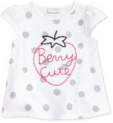 First Impressions Berry Cute-Print Cotton T-Shirt, Baby Girls (0-24 months), Created for Macy's