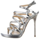 Jimmy Choo Leather Multistrap Sandals