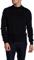 Toscano Crew Neck Rib Knit Sweater