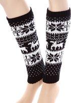 Simplicity Legging Socks Leg Warmer Knitted Boot Cover Stocking, 0138-C/W