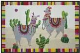 Pottery Barn Llamas Washable Mat