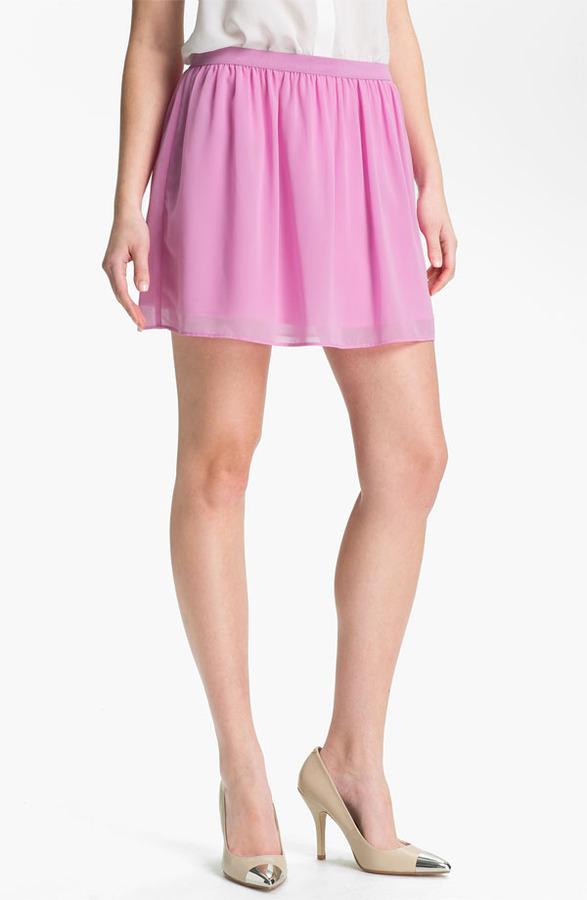 Frenchi Chiffon Miniskirt (Juniors)