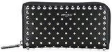 Jimmy Choo Carnaby stud-embellished wallet