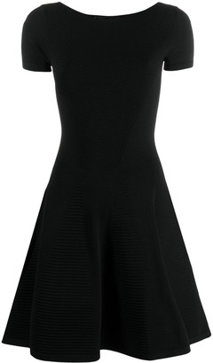 DSQUARED2 Ribbed Detail Short Dress