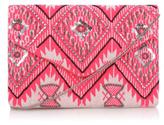 George Jacquard Embellished Clutch Bag