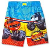 Toddler Boys' Blaze and the Monster Machines Swim Trunk - Blue