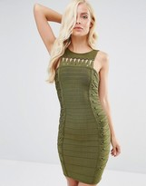 Forever Unique Rochelle Bandage Dress With Twists