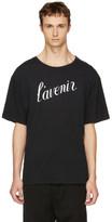 Ann Demeulemeester Black 'L'avenir' T-Shirt