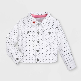 Mickey Mouse & Friends Girls Disney Minnie Mouse Jean Jacket - - Disney Store