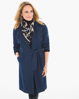 Chico's Denim Trench Coat