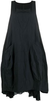 Rundholz Oversized Raw Hem Dress