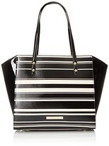 Anne Klein Nautical Wave Tote Bag