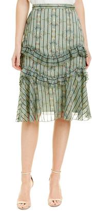 Eva Franco A-Line Skirt