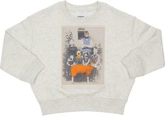 Burberry Printed Cotton Sweatshirt
