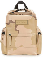 Hunter Camouflage Rubberized Leather Mini Backpack