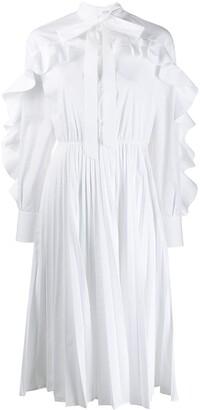 Valentino Ruffled Midi Dress