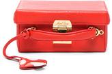 Mark Cross Grace Small Box Bag with Mushroom Charm