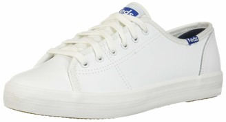 Keds Women's KICKSTART RETRO COURT LEATHER Sneaker