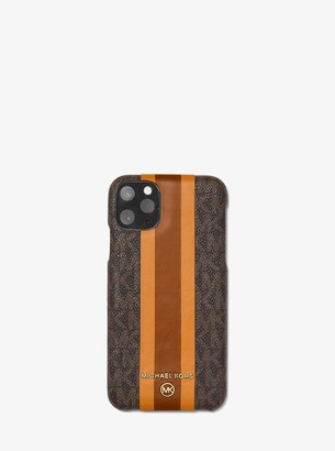 MICHAEL Michael Kors Logo Stripe Phone Cover for iPhone 11 Pro Max