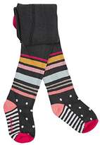 Catimini Baby Girls' Collants Multic Tights,18-24 Months