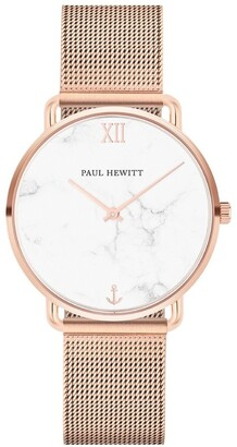 Paul Hewitt PH-M-R-M-4S Miss Ocean Line Rose Gold Watch