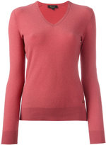 Loro Piana cashmere V-neck jumper - women - Cashmere - 38
