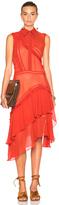 Preen Line Greta Dress in Red.
