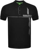 BOSS GREEN M Paule Polo T Shirt Black