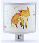Common Rebels Lone Fox Night Light