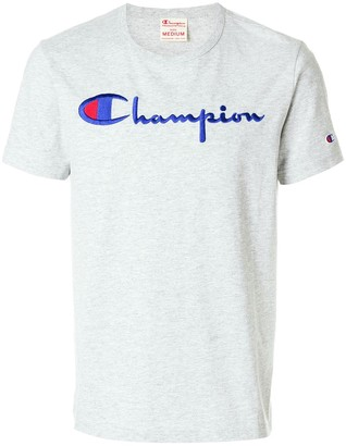 Champion logo patch T-shirt