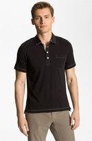 Billy Reid Men's Pensacola Slim Fit Polo