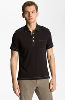 Billy Reid Men's 'Pensacola' Trim Fit Polo