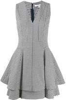 Derek Lam 10 Crosby Koren Fit and Flare Gingham Twill dress
