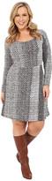 MICHAEL Michael Kors Size Kobe Long Sleeve Flare Dress