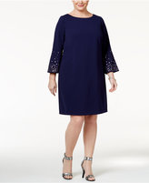 Jessica Howard Plus Size Grommet Shift Dress
