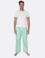 Gone Fishing Green Pyjama Pants