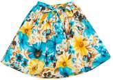 Charm Child Cotton Floral Print Skirt