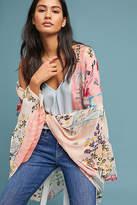 Anthropologie Jordin Floral Kimono