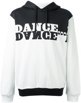 Dolce & Gabbana dance print hoodie - men - Cotton - 52