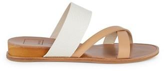 Dolce Vita Prysm Embossed Criss-Cross Wedge Sandals