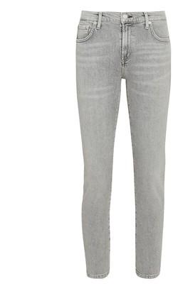 AGOLDE Toni Slim Straight-Leg Jeans