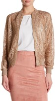 Missguided Lace Bomber Jacket