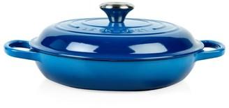 Le Creuset Marseille Blue Shallow Casserole Dish (26cm)