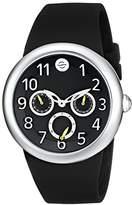 Philip Stein Teslar Unisex PS-DAYNIGHT7 Analog Display Japanese Quartz Black Watch Set