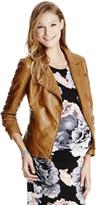 Motherhood Jessica Simpson Faux Leather Maternity Jacket