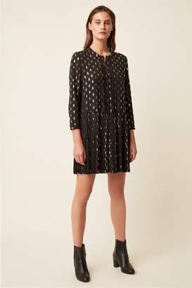 Great Plains Ada Foil Button Front Dress