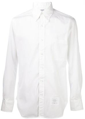 Thom Browne Logo Patch Shirt